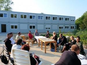 Flüchtlingsunterkunft Elmschenhagen 16.09.14