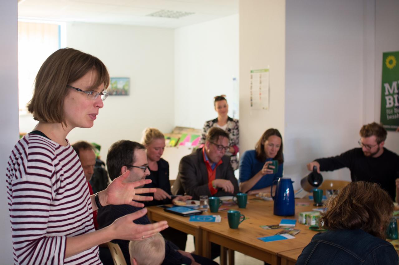 Das Thema Transparenz und Korruption sorgte für ein volles Haus bei den Steinburger Grünen.