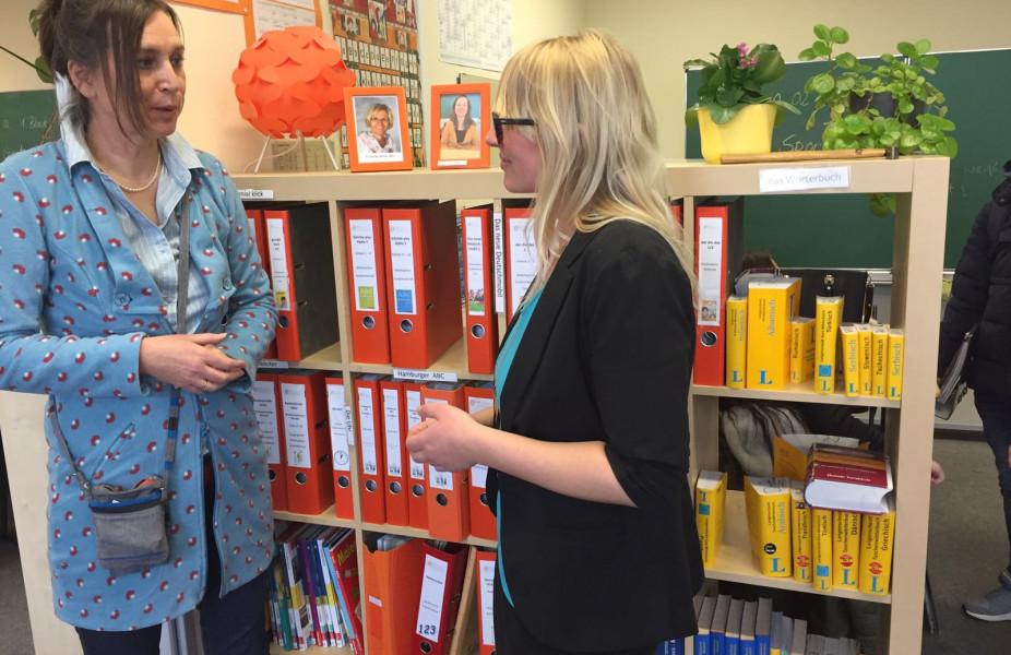 Besuch in der Dannewerkschule Schleswig