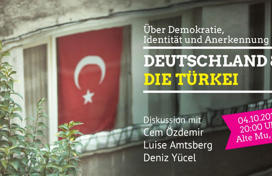 Deutschland und die Türkei – über Demokratie, Identität und Anerkennung – Diskussion mit Cem Özdemir, Luise Amtsberg und Deniz Yücel